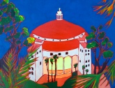 Take me Back- Acrylic on Canvas of the Catalina Casino $125.