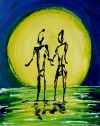 Twin Souls, 16x20 Private Collection, United Arab Emirates