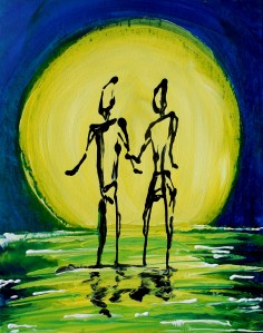 Who is your someone special you would love to watch the moonrise with on a hot summer night?
