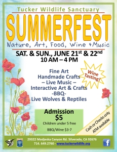 Summerfest at Tucker Wildlife