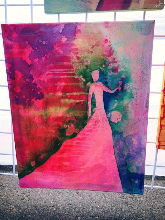 Pink Lady by Katinka