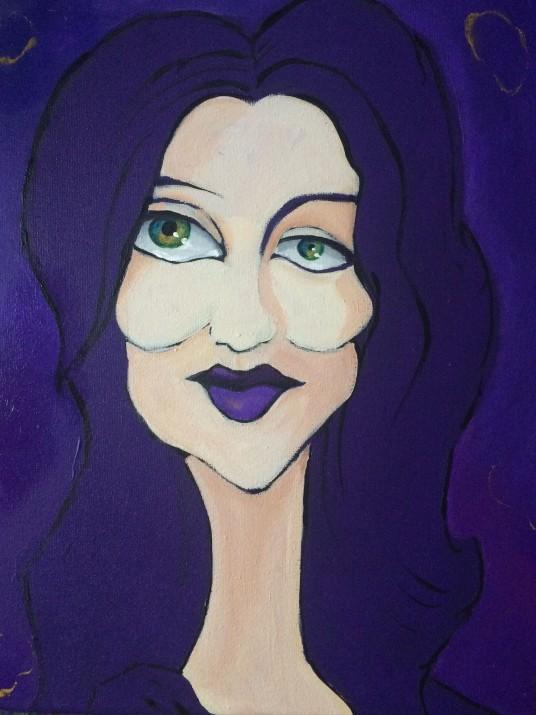 celeste in violet