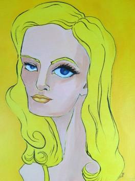 Lemon Yellow Print