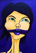 Deep Violet, Spectrum Series, 11x14, framed $160