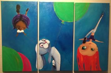 ha3 acrylic on canvas $475 the set