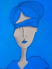 Compose Blue, Spectrum Series, 11x14, $160