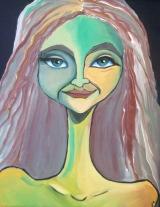 Real Beauty, Acrylic on Canvas, $240