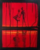 16x20, Aryilic on Canvas