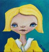 Mini Canvas #5, 4x4 in. $35, at Artbeat