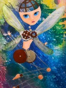 Fairy Girl, 24x26 Arylic on Canvas, Private Collection, Hollywood, CA