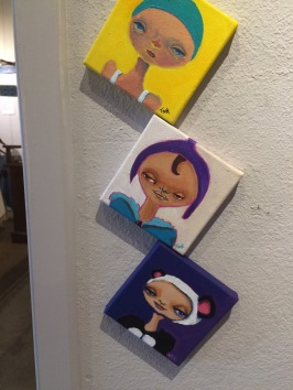 Tiny Canvases Available at Artbeat in Vista